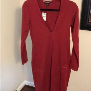 Deep Red Medium Express Dress